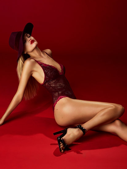 Mamba Body, Red Boudoir by Andres Sarda