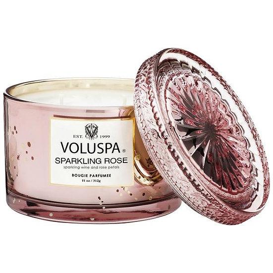 Voluspa - Sparkling Rose Corta With Lid