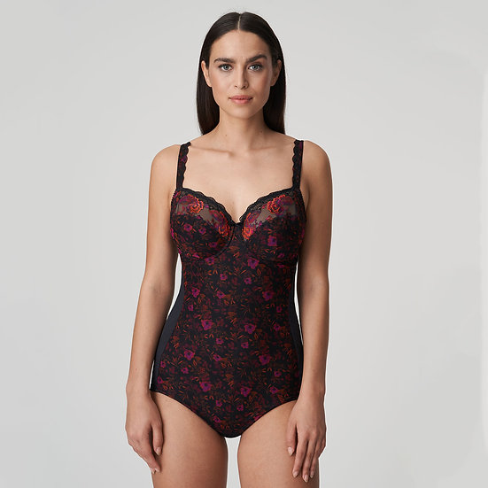 Palace Garden Body in Charcoal by Prima Donna