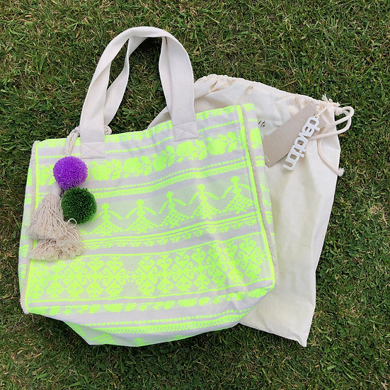 Neon Lime Bag by Devotion