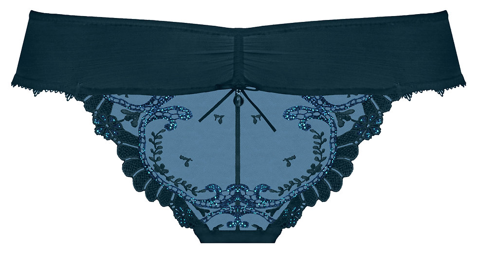 Empreinte Carmen Thong in Blue Iris