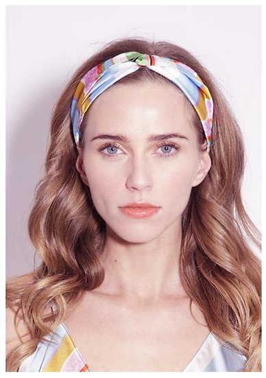 Silk Headband ''Kansas Summer Stripe'' by Jessica Russell Flint