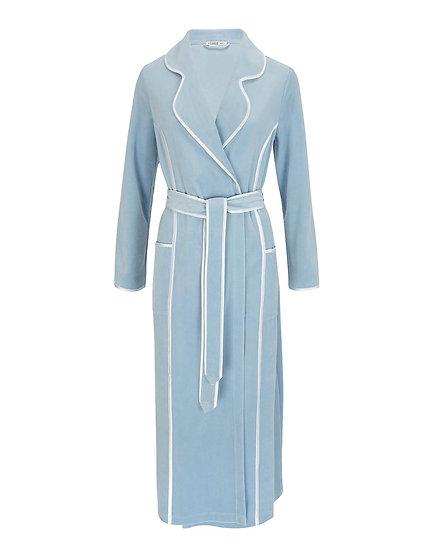 copyFeraud High Class Powder Blue  Velvet Gown