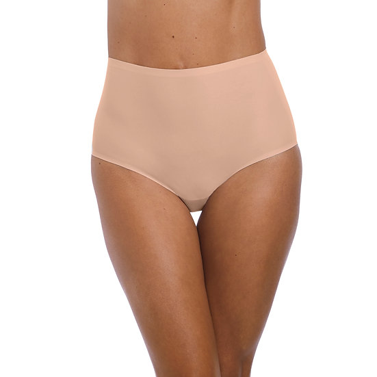 Fantasie Smoothease One Size Seamless Briefs Natural