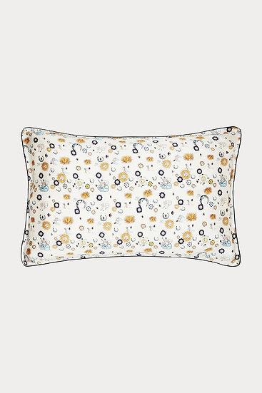 ''Kiss the  Sky'' Silk Pillow Case by Jessica Russell Flint