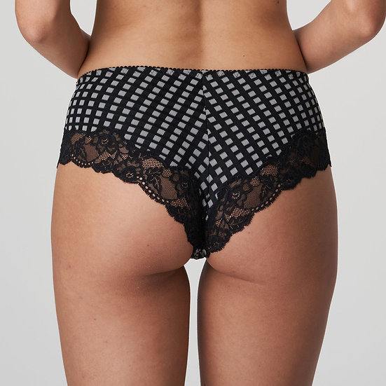 Madison Crystal/Black Hotpant by Prima Donna
