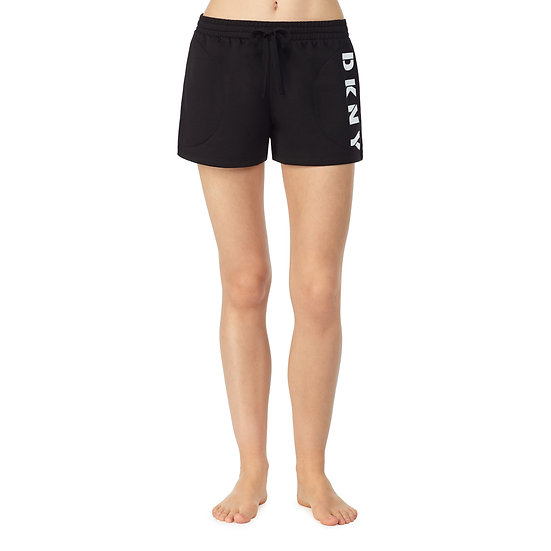 DKNY That Logo Life Fleece Backed Pyjama Boxer