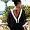 Thumbnail: Black Manhattan Silk Top By Lindsey Brown