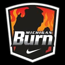 MI Burn logo