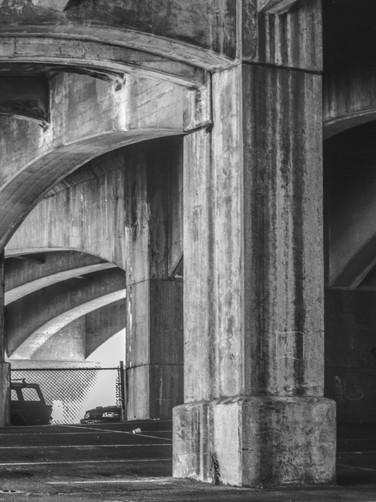 Grafitti under Freeway
