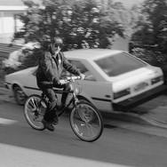 Bicyclist Fireman