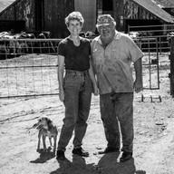 "Linda & Joey Mendoza & Audrey, Historic ""I"" Ranch, Point Reyes"