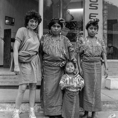 Aguas Calientes Susan and Indios Women