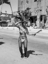 Carnaval Dancer Posing