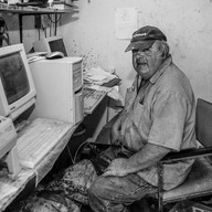 "Joey Mendoza, Historic ""B"" Ranch, Point Reyes"