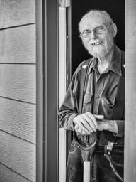 Richard, CU in Doorway