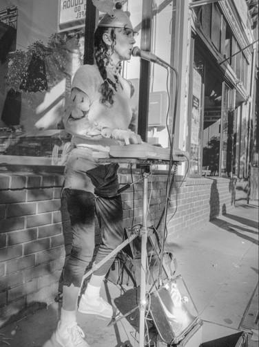 Sidewalk Keyboardist