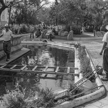 San Pedro Fountain Repair