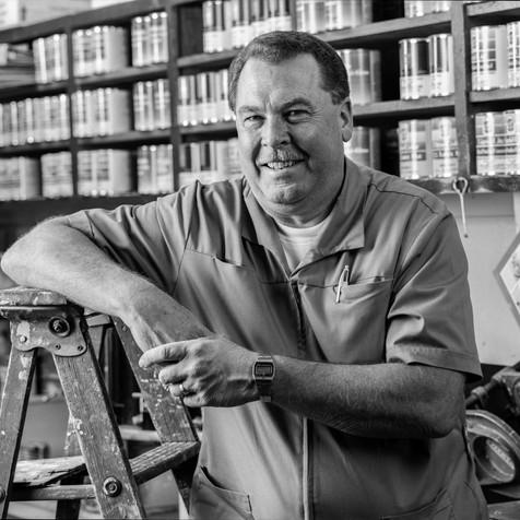 Pete Peterson, Paint Store Owner