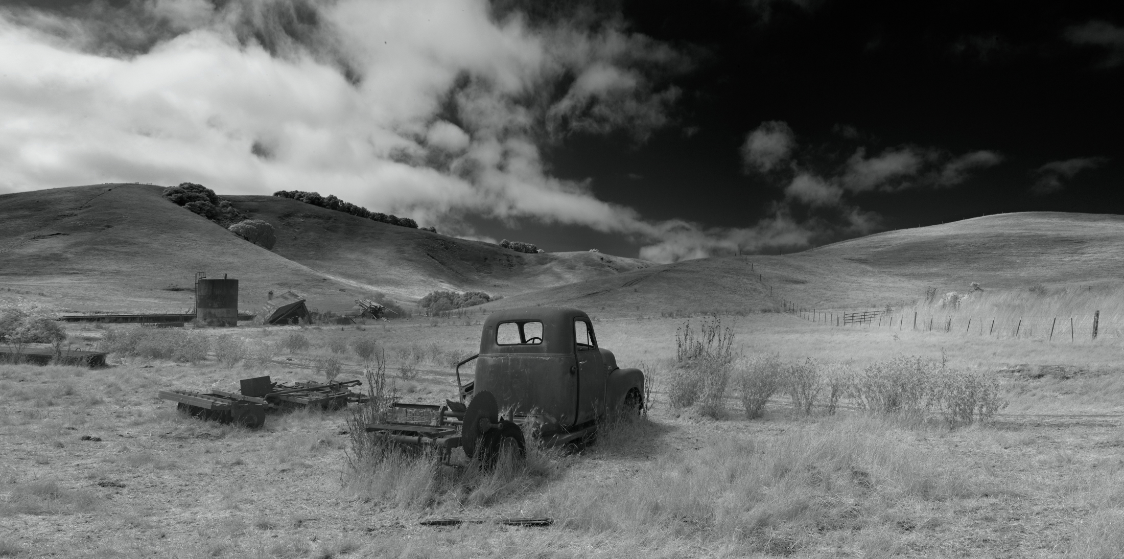 Truck Saw #1 Panorama, Dolcini Ranch-3