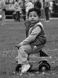 Little Rider on Marina Green