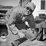 "Bob McClure, Historic ""I"" Ranch, Pierce Point"