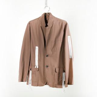 Zipper Safari Jacket
