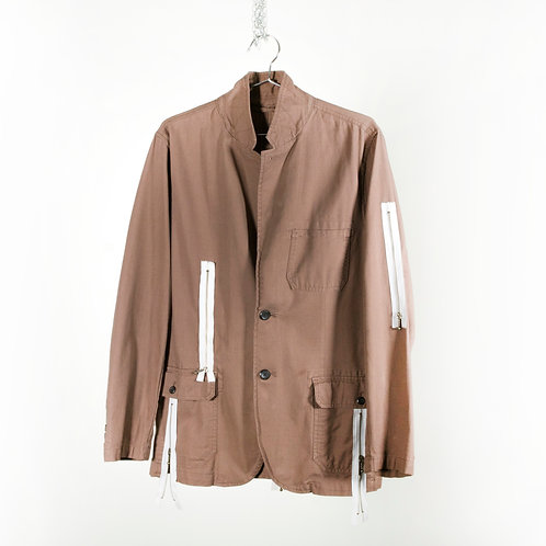 Zipper Safari Jacket
