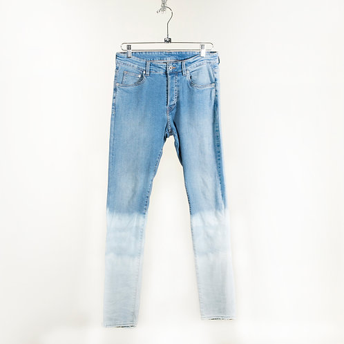 Dip-Dyed Skinny Jeans