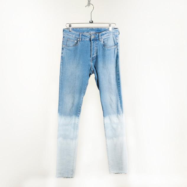 Dip-Dyed Skinny Jeans