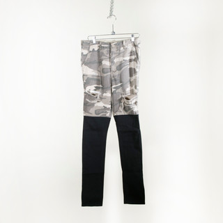 Camo-Black Skinny Jeans