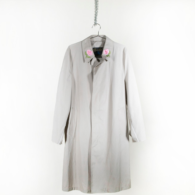 Llewellyn Floral Trench Coat