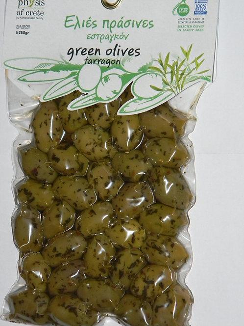 Oliwki zielone pakowane próżniowo z pestką 250g