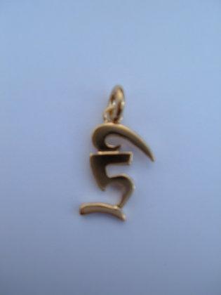 """Dzogchen Colgante """"Bam"""" Oro"""