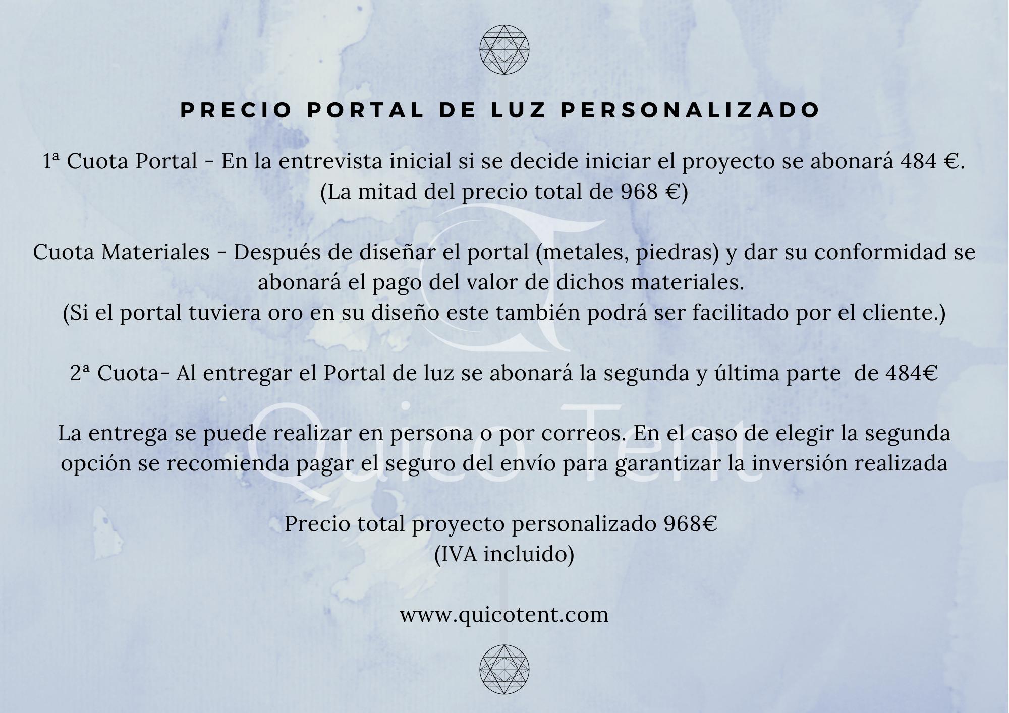 PRECIO PORTAL DE LUZ DIN-4-