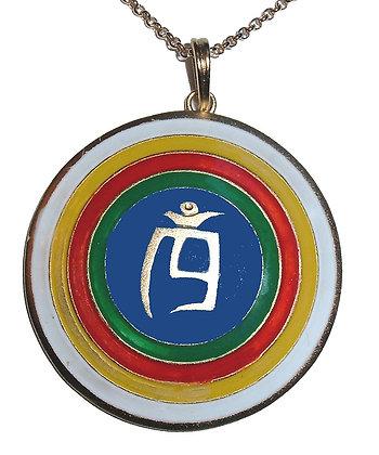 "Dzogchen Colgante Tigle ""Khrom"" Grande"