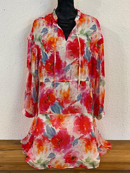 Kleid mit Floralem-Print