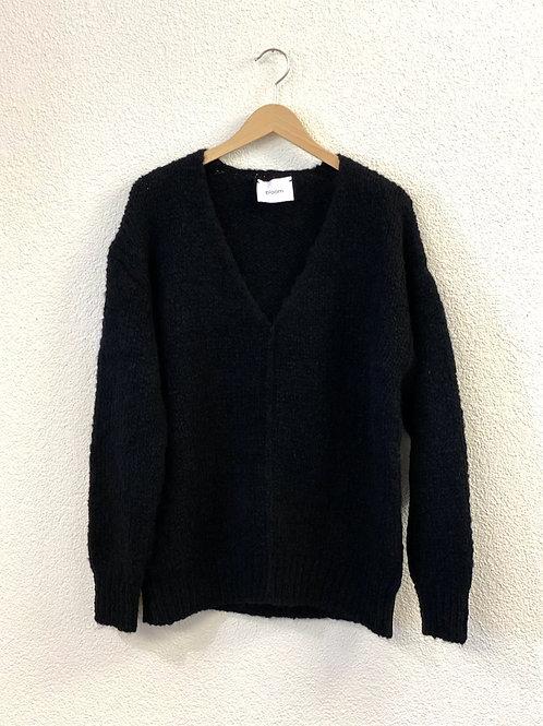 Pullover V-Neck Schwarz