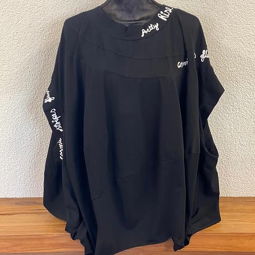 Longshirt Oversize mit Print