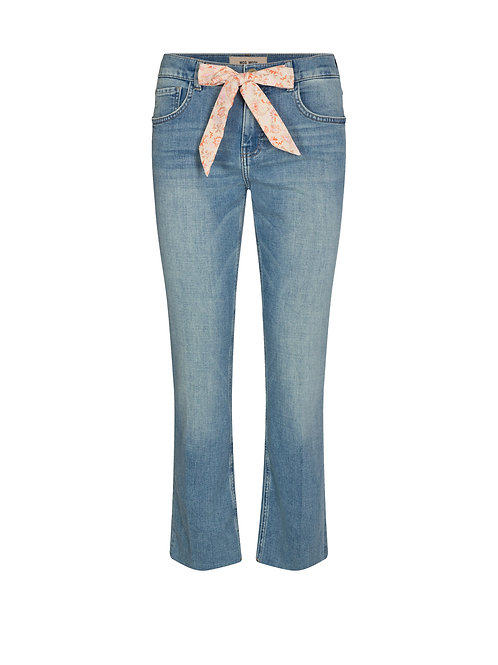 Jeans mit Stoffband