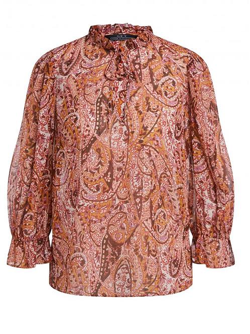 Tunika mit Paisley-Muster