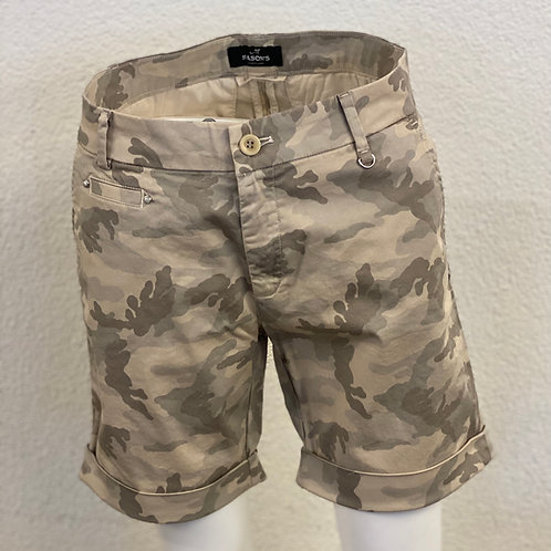 Shorts in Camouflage-Muster