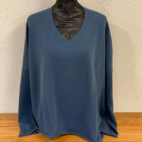Pullover Oversize V-Ausschnitt