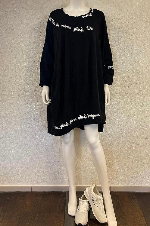 Kleid Oversize mit Print