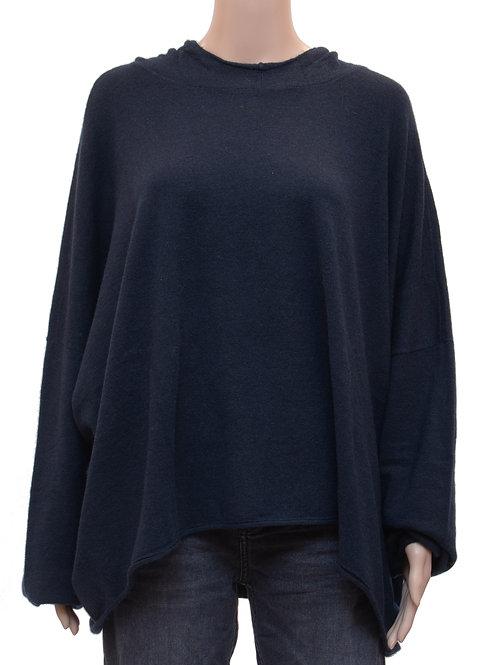 Oversized Pullover mit Kapuze