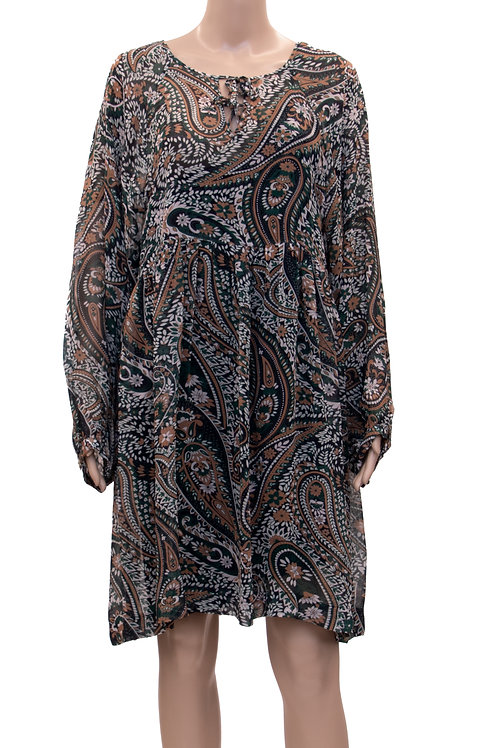 Paisley-MusterTunika-Kleid