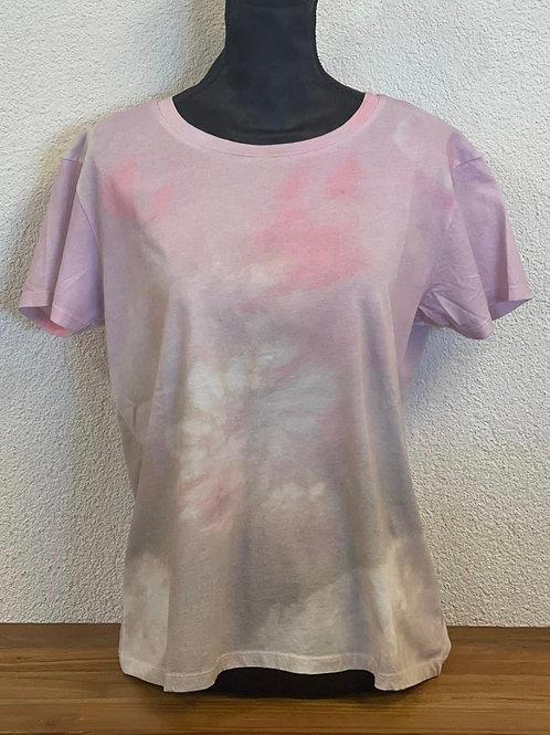 T-Shirt mit Batik-Farbverlauf