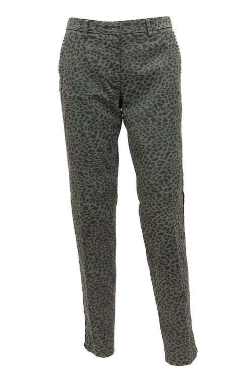 Chinos in Leo-Print