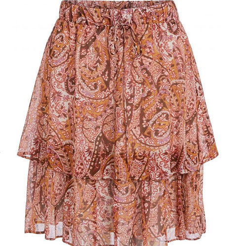 Jupe mit Paisley-Muster