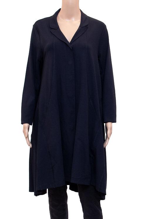 Oversized Mantel mit Knöpfen